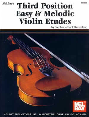 Third Position Easy Melodic Violin Etudes Book