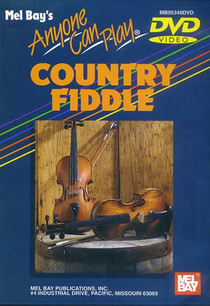 Anyone Can Play Country Fiddle DVD