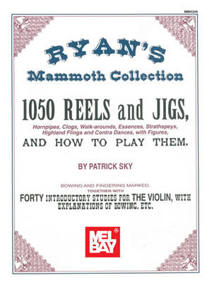 Ryans Mammoth Collection Of Fiddle Tunes Book