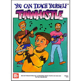 You Can Teach Yourself Tinwhistle Book CD Set