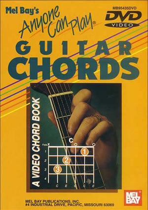 Anyone can play guitar chords DVD