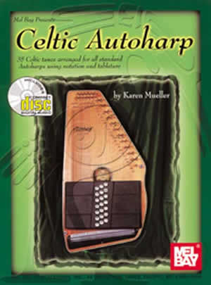 Celtic Autoharp Book CD Set