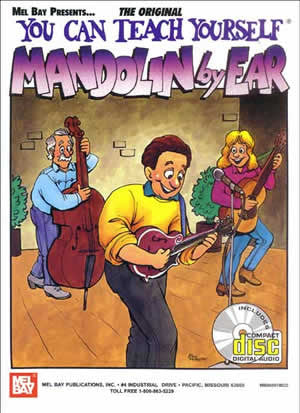 You Can Teach Yourself Mandolin By Ear Book CD Set