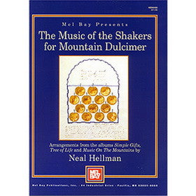 Music of the Shakers for Mountain Dulcimer Book