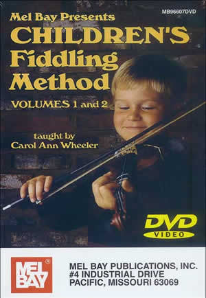 Children's Fiddling Method Volume 1 and 2 DVD