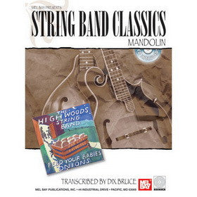 String Band Classics - Mandolin Book and CD Set