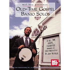 Old-Time Gospel Banjo Solos Book CD Set