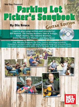 Parking Lot Picker's Songbook Guitar Book CD Set