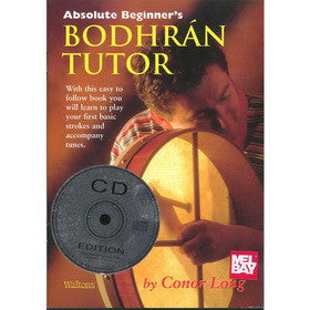 Bodhran Tutor Absolute Beginners Book CD Set