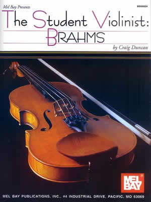 The Student Violinist: Brahms Book
