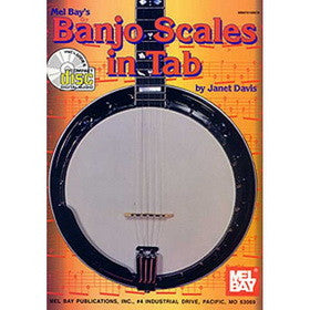 Banjo Scales in Tab Book CD Set