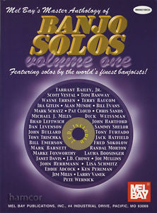 Master Anthology of Banjo Solos Book CD Set