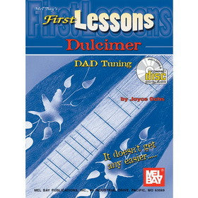 First Lessons Dulcimer Book/Cd Set