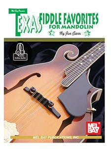 Texas Fiddle Favorites for Mandolin Book and CD Set