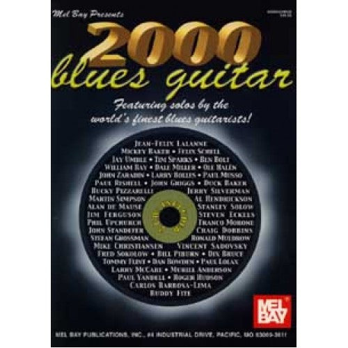 2000 Blues Guitar Book Cd Set