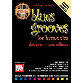 Blues Grooves For Harmonica Book/CD Set