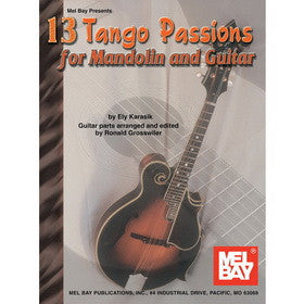 13 Tango Passions for Mandolin and Guitar Book