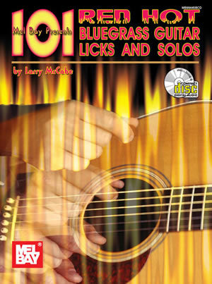101 Red Hot Bluegrass Guitar Licks (Book/CD Set