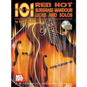 101 Red Hot Bluegrass Mandolin Licks and Solos Book/CD Set