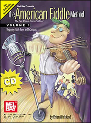 American Fiddle Method Volume 1 Book Cd Set