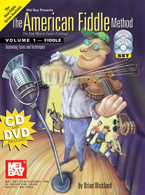 American Fiddle Method Volume 1 Book CD DVD Set