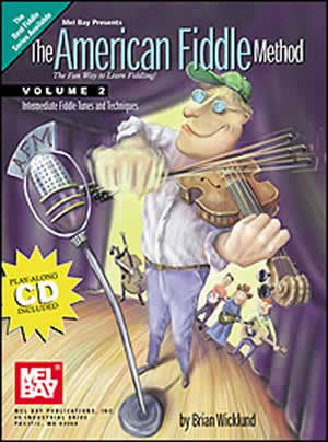 American Fiddle Method Volume 2 Book CD