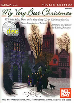 My Very Best Christmas Violin Edition Book CD Set