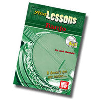 First Lessons Banjo Book CD Set