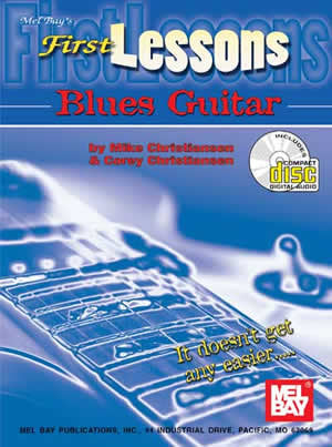First Lessons Blues Guitar Book CD Set