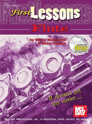 First Lessons Flute Book CD