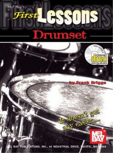 First Lessons Drumset Book CD Set