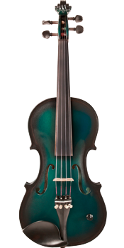 Barcus-Berry Vibrato-AE Electric Violin Green