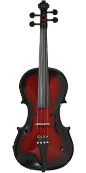 Barcus-Berry Vibrato-AE Electric Violin Red