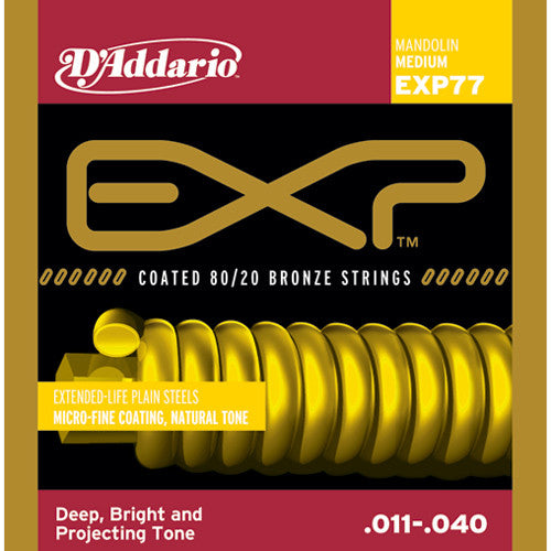 DAddario EXP-77 Mandolin Strings