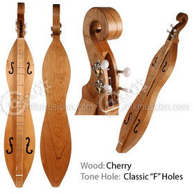 Folkcraft Traditional Hourglass Dulcimer