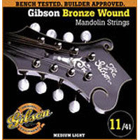 Gibson Mandolin Strings 80/20 Brz Wound Med Lt
