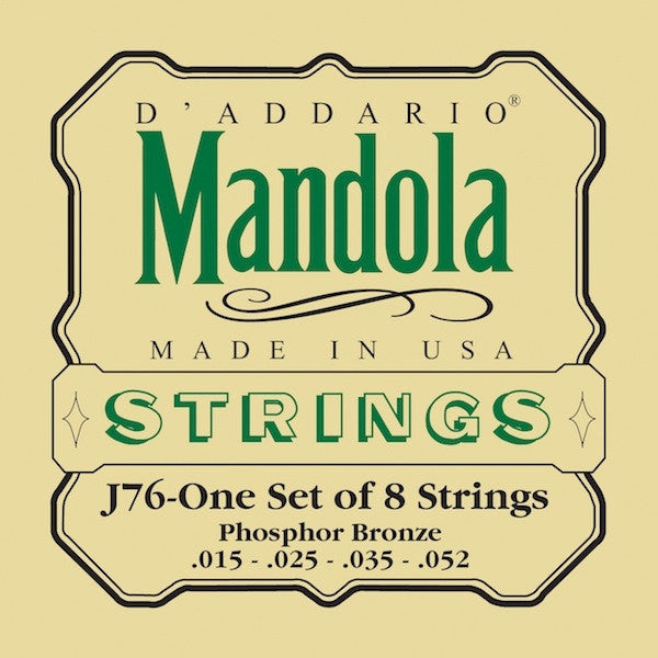 EJ76 Phosphor Bronze Mandola Strings Medium