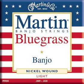 Martin Banjo Strings Light