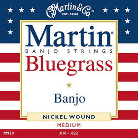 Martin Banjo Strings Medium