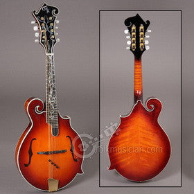 Michael Kelly Legacy Dragonfly Flame Mandolin Hickory