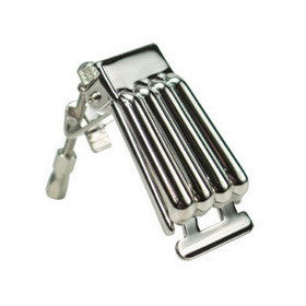 Banjo Tailpiece - Clamshell/Nickel