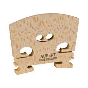 Aubert Violin Bridge Untreated Maple 4/4