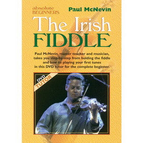 Absolute Beginners Irish Fiddle DVD