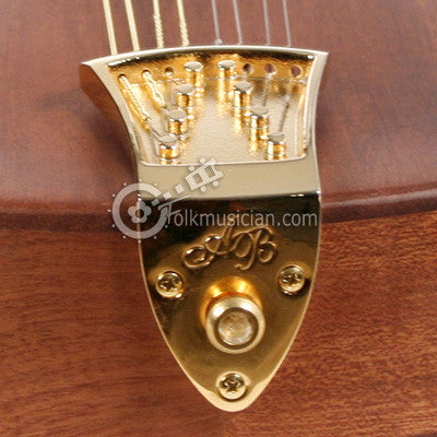 Ashton Bailey Cast Mandolin Tailpiece Gold
