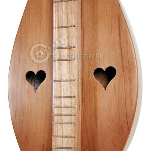 Left Handed Black Mountain Hourglass Dulcimer
