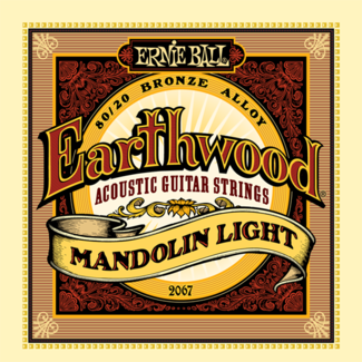 EARTHWOOD MANDOLIN LIGHT 80/20 BRONZE