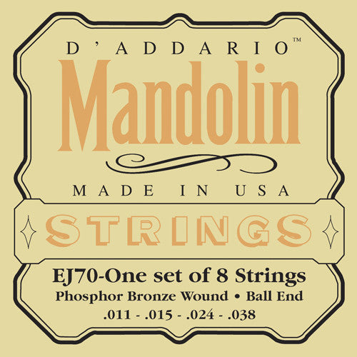 Ball End Mandolin Strings