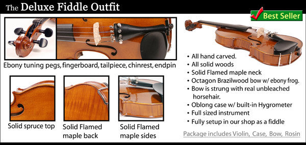Deluxe Fiddle Outfit