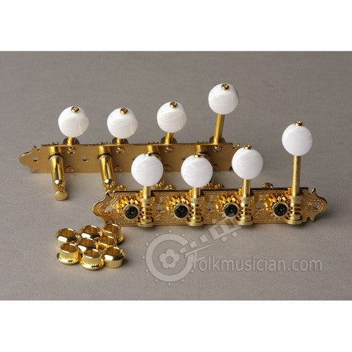 Gotoh Mandolin Tuning Machines F-Style Gold