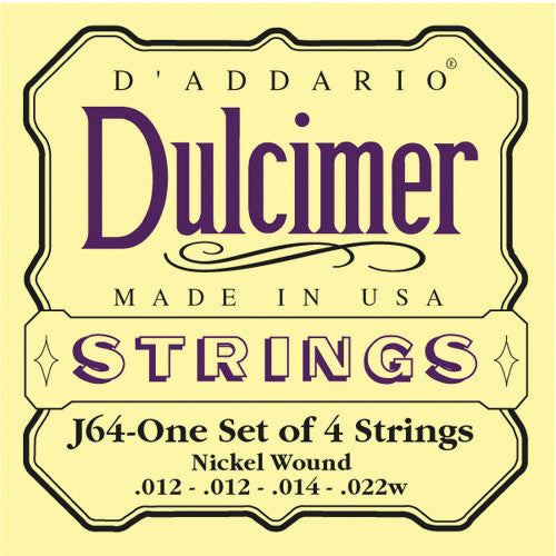 DAddario Dulcimer strings